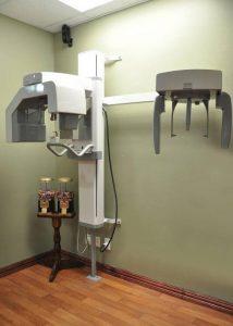 x ray machine in EQ Dental office