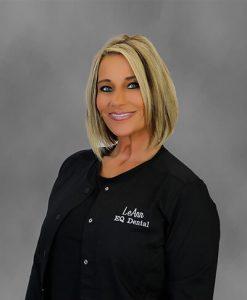 photo of office administrator LeAnn